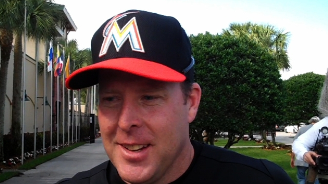 Present, future arms come together in Marlins camp