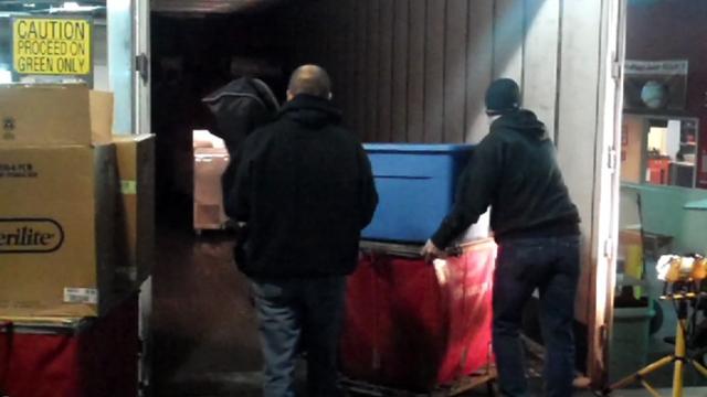 Desert bound: Reds' truck loaded for spring camp