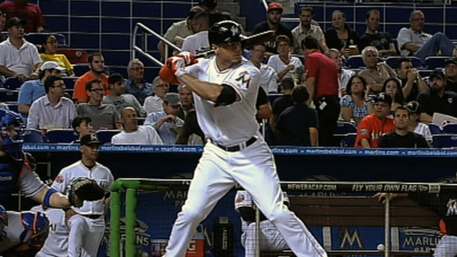 Tino brings hitting philosophy to young Marlins