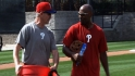 Phillies arrive to camp early
