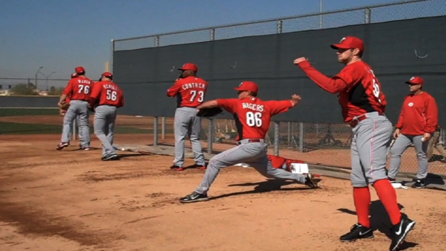 Chance to begin anew excites pitchers, catchers