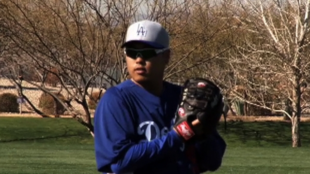 Greinke, Ryu get first spring look at hitters