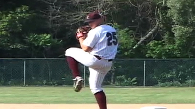 Mound prospect Beck charting path to big leagues