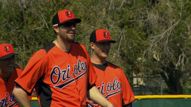 Gonzalez excited to be with O's, ready for start