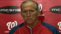 Johnson on Nats pitching staff