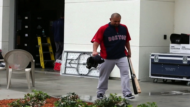 High-energy Victorino bubbling with excitement