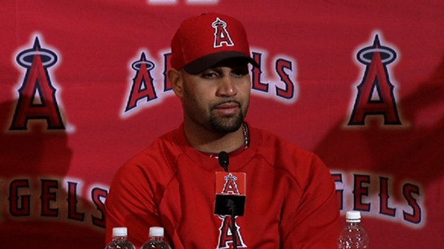 First base remains Pujols' preferred designation