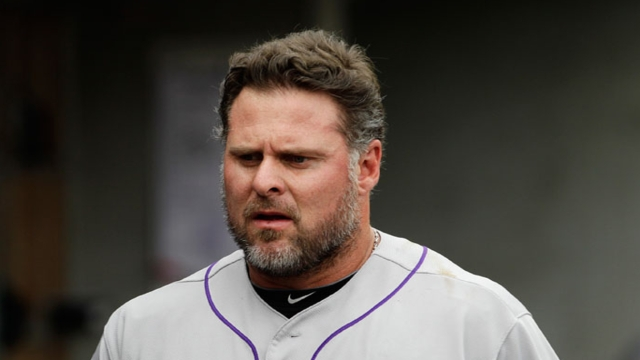 Giambi grateful, excited to have one final shot in Majors