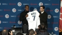 Reyes introduced in Toronto