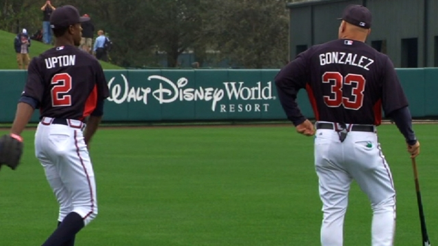 Dynamic new outfield has Braves feeling chipper