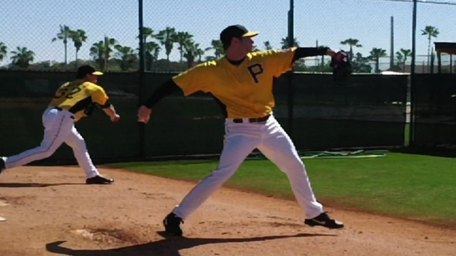 Irwin joins Pirates in advance of Sunday's debut