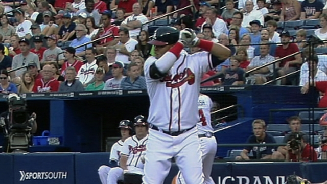 Francisco goes deep as Braves edge Tigers