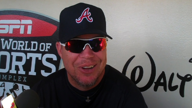 Chipper to enter Braves Hall, number to be retired