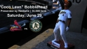 Coco Crisp &#039;Lean&#039; Bobblehead