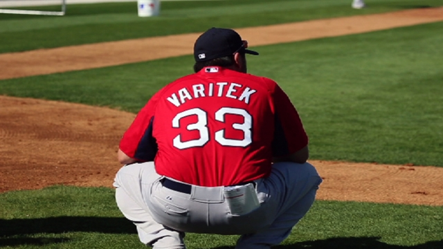 Varitek immersing himself into all aspects of new job