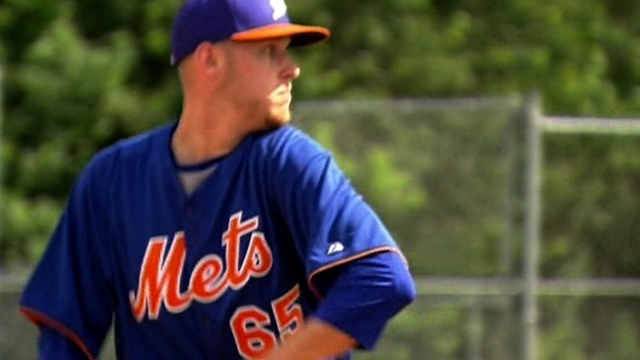 From humble beginnings, Wheeler at ease with Mets