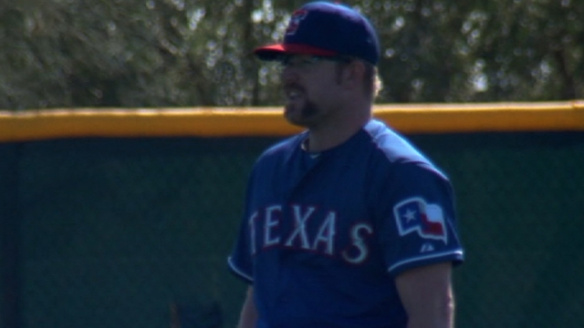 Rangers in enviable position with left-handed relief