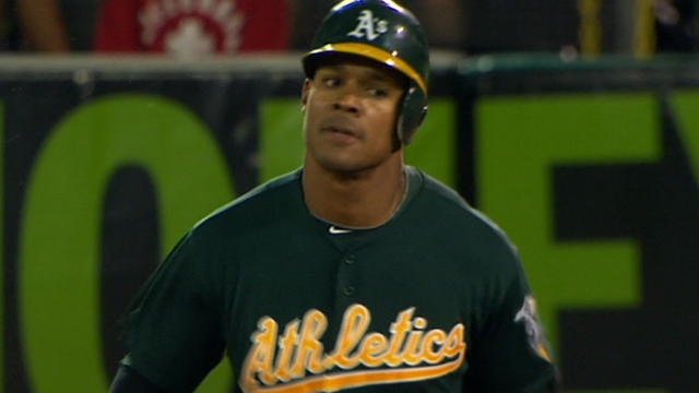 Young heads to DL, A's recall Taylor