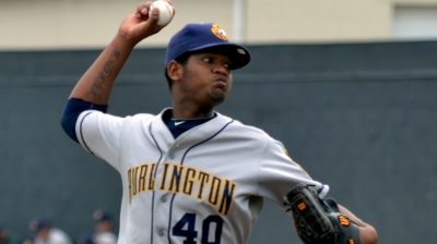 Athletics add right-hander Alcantara to 40-man