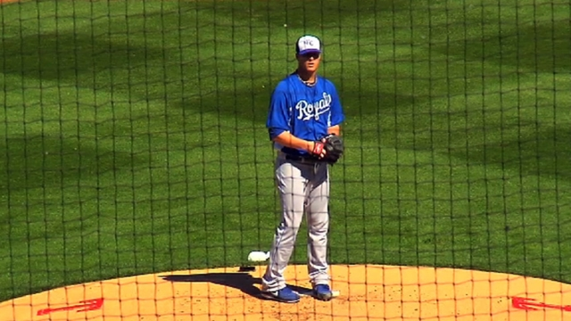 Smith throws two scoreless innings in Royals' tie