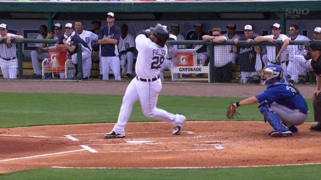 Prince, Cabrera go deep in Grapefruit loss