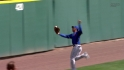 Gose's over-the-shoulder catch