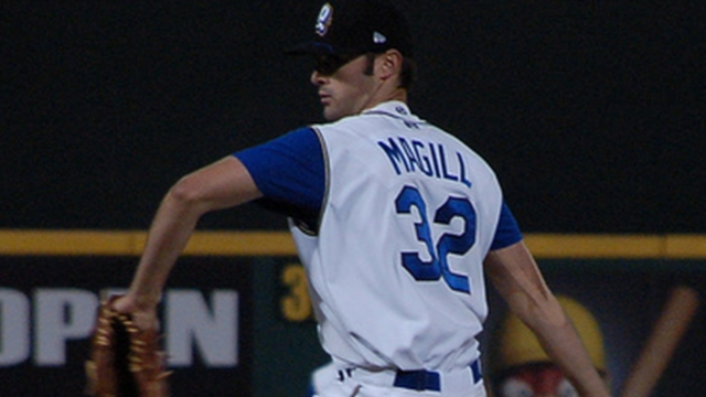 For Dodgers' Magill, steady climb to big league camp