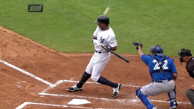 Yanks lose Granderson, shut out by Blue Jays