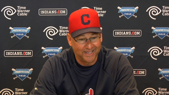 Raburn comes out swinging at Indians camp
