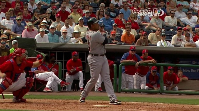 Cabrera smacks second spring homer in win
