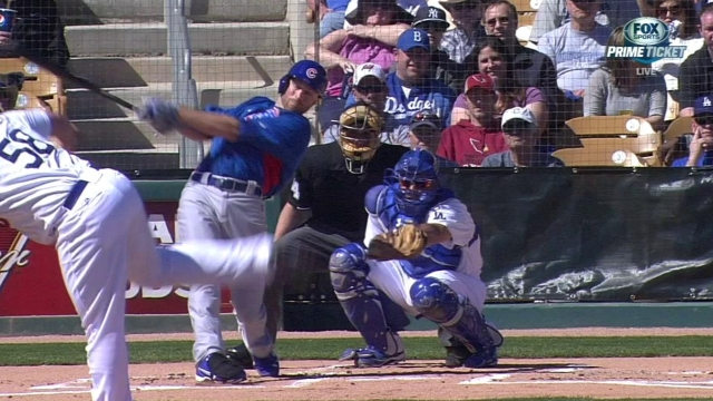 Cubs power up in Cactus affair with Dodgers