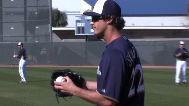 Brewers to Schafer: Don't get discouraged