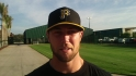 Strickland enjoying Pirates camp