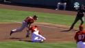 Trumbo's diving catch