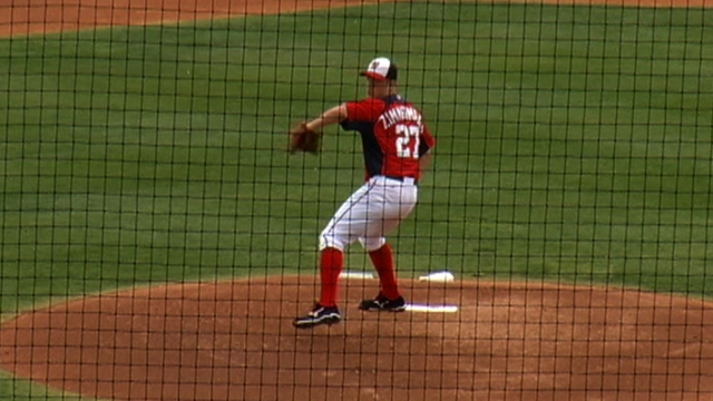 Johnson: Zimmermann's 'dead arm' not a concern
