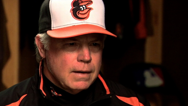 As East rivals, Showalter to see Dickey's knuckler often