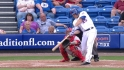 Recker's solo home run