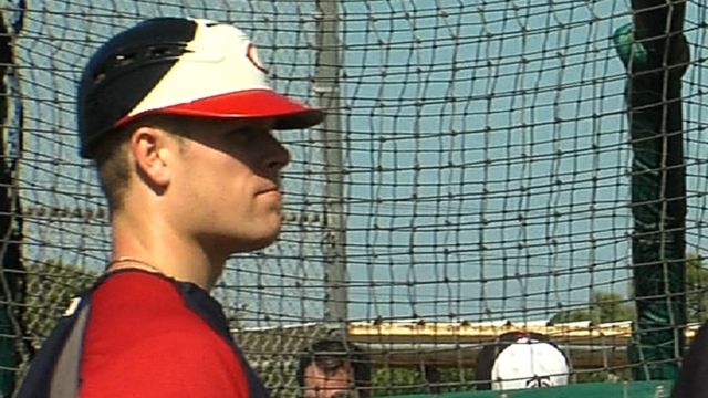 Morneau swinging bat well, in Opening Day lineup