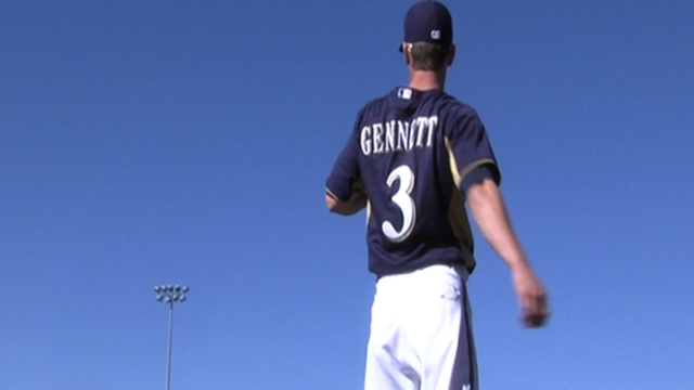 Gennett small in stature, but large on talent
