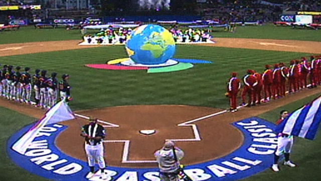 At NYSE, Archey rings in 2013 World Baseball Classic
