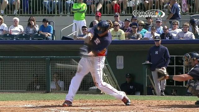 Laird's slam caps Astros' comeback win vs. Yanks