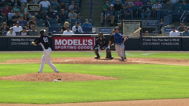 Morrow turns in scoreless outing against Yanks
