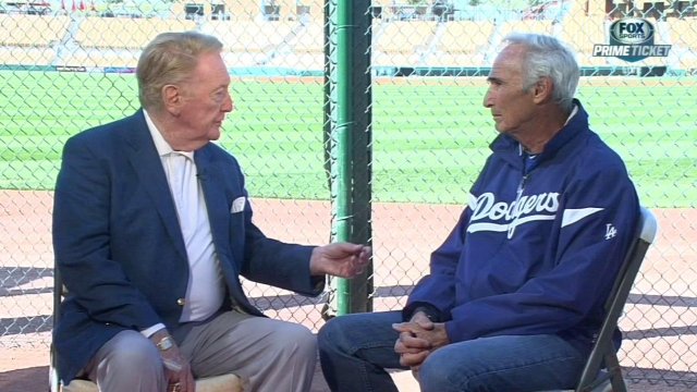 From rookies to legends, Koufax leaves mark on camp