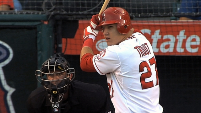 Trout a bargain for Halos now, but not for long