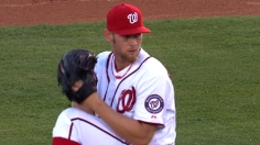 Strasburg goes three, fans six vs. Mets