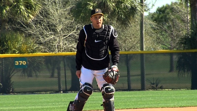 Back behind plate, Martin says shoulder feels great
