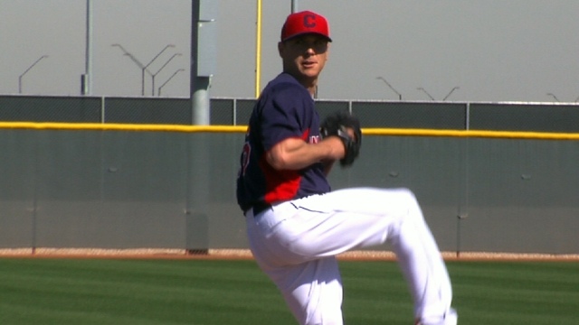 Kazmir looks for redemption with Indians