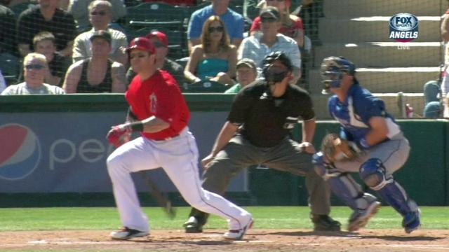 Hamilton, Weaver spark Angels' rout of Dodgers