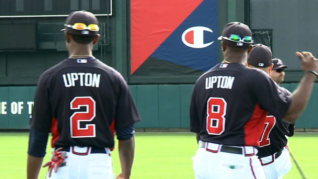New-look outfield gives Braves brand-new identity