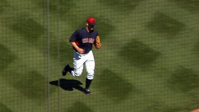 Masterson falters, Indians' bats steal show